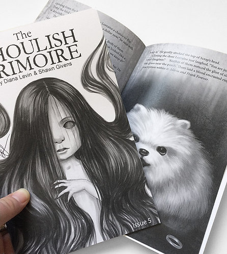 The Ghoulish Grimoire -Zine Issue 5