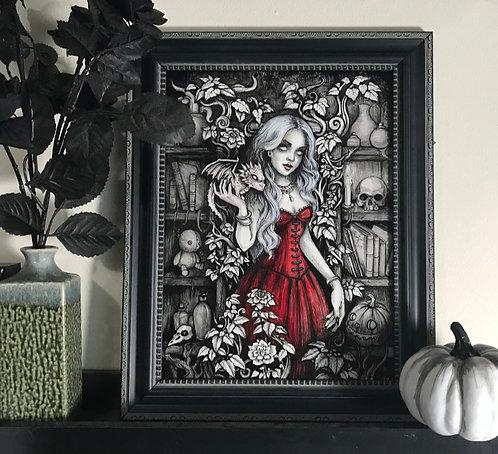 Morgana Original Painting - Framed