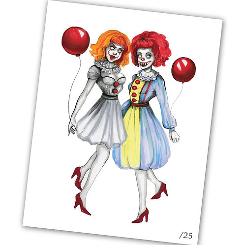 Pennywise Girls Limited Edition Art Print
