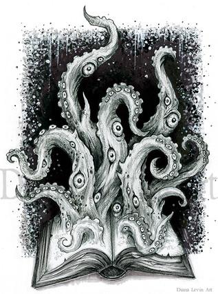 Forbidden Whuerds Cosmic Horror Cthulhu Art