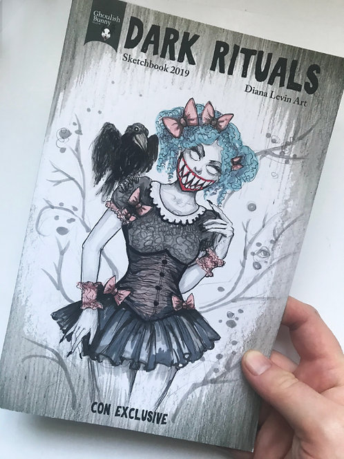 Zoey - Sketchbook with Original Drawing Cover