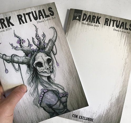 Dark Rituals Sketchbook