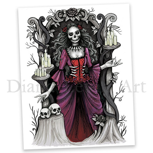 "Judge of Death 11"" x 14"" Art Print"