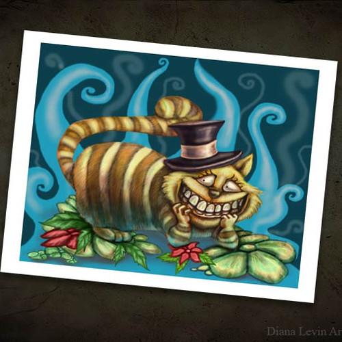 Cheshire Cat 85 X 11