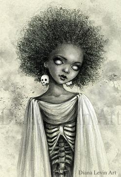 Kira Zombie Witch Art