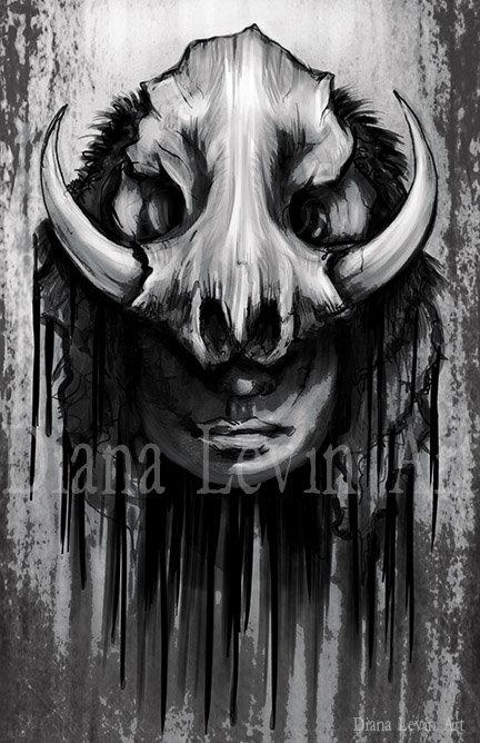 "New Moon Butcher 11"" x 17"" Art Print"