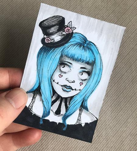 Midge Original Sketchcard