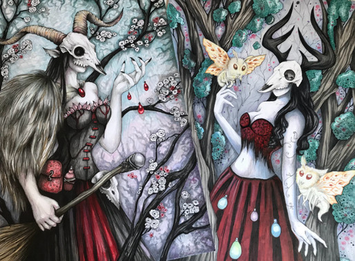 New Art: Witches of the Dreaded Woods