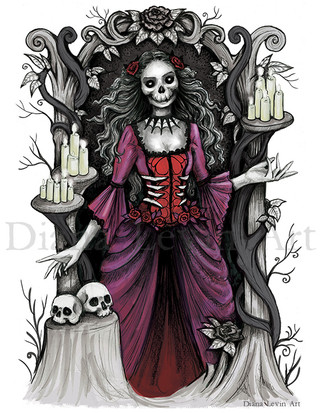 Judge of Death Gothic Art