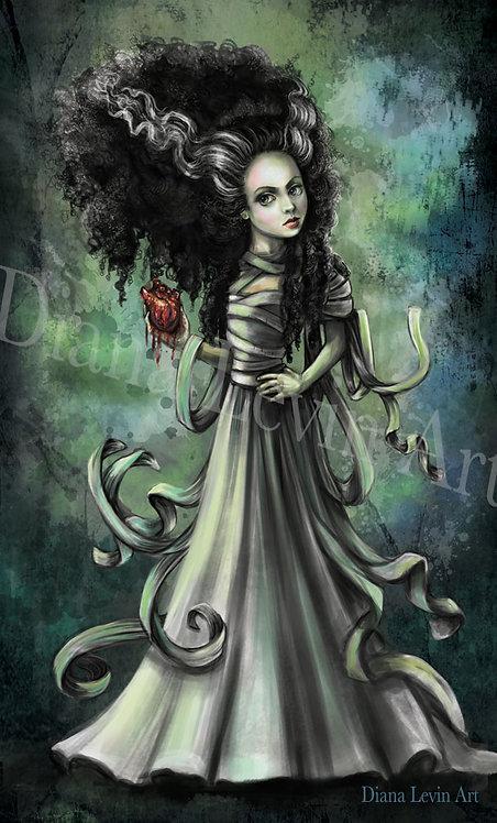 "Bride of Frankenstein 11"" x 17"" Art Print"