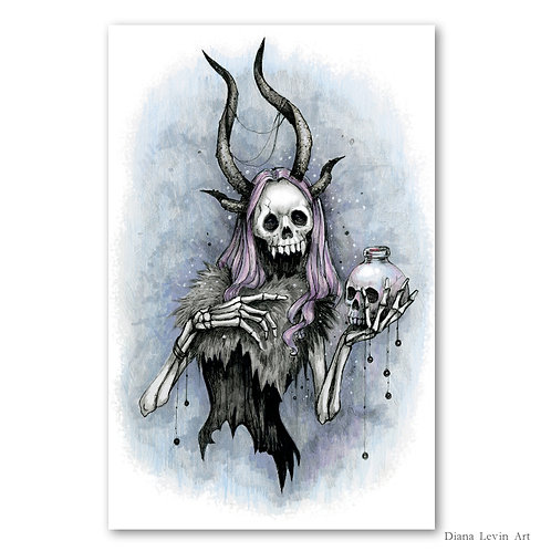 """Darling - Poison Witch 11"""" x 17"""" Art Print"""