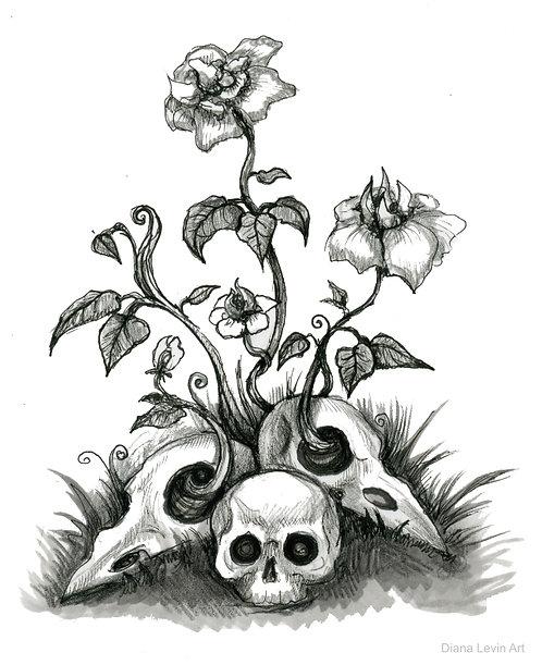 "Morbidly Growing ""8"" x 10"" Art Print"