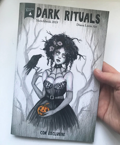 Marla - Sketchbook with Original Drawing Cover