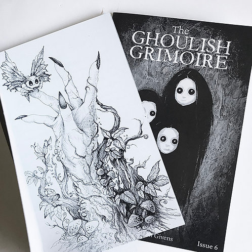 The Ghoulish Grimoire -Zine Issue 6