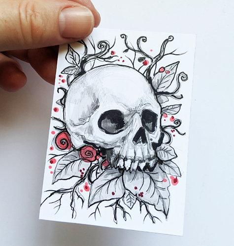 I Remain Original Sketchcard