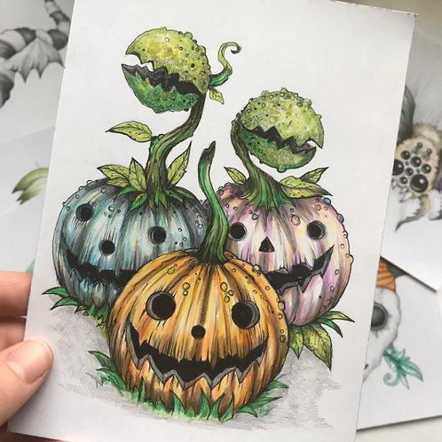 We Grow Together Original Drawing