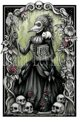 Plague Doctor Witch Art