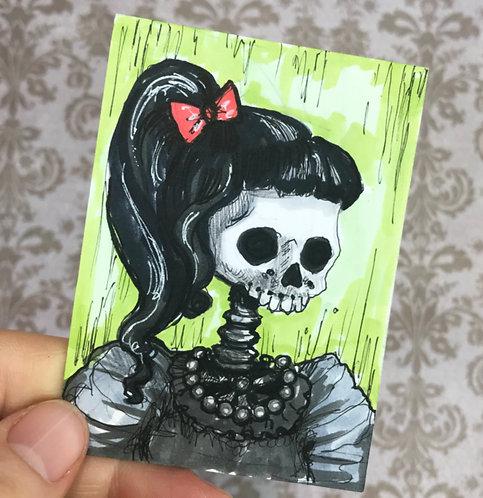 Valley Girl Original Sketchcard