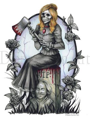 Haunted Mansion Grim Grinning Art