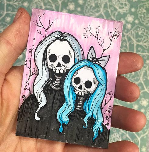 Darlings Original Sketchcard