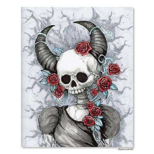 "Divine -Angel of Pleasure- 11"" x 14"" Art Print"