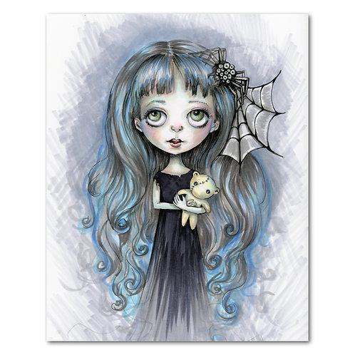 """Strange Girl """"8"""" x 10"""" Art Print"""