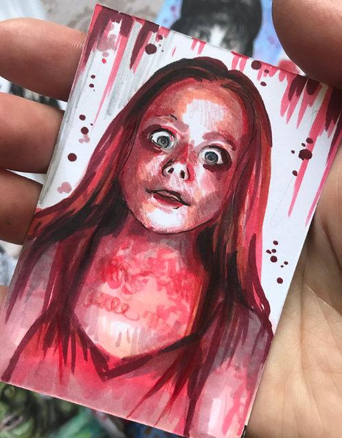 Carrie Original Sketchcard