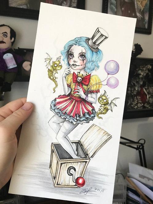 Jacklyn Original Drawing