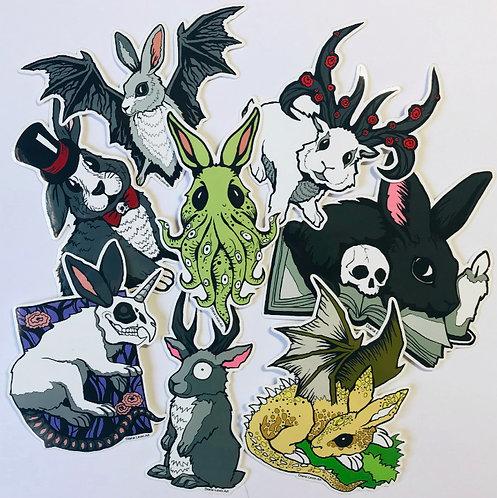 Rabbit's Grim Sticker Pack