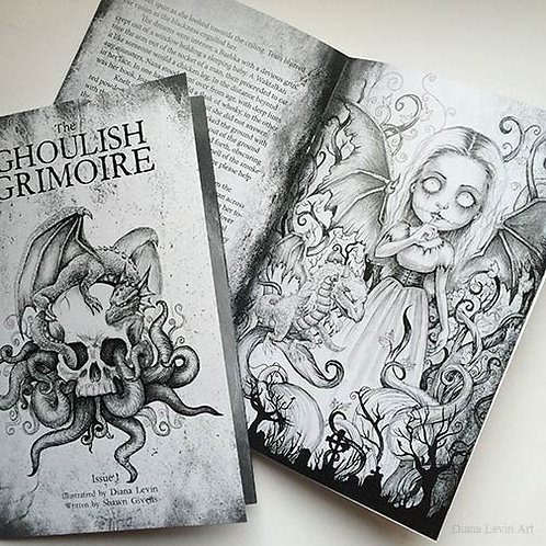 The Ghoulish Grimoire -Zine Issue 1