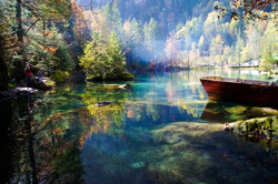 Colours of Blausee