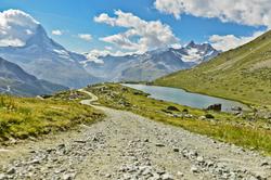 The way to Matterhorn
