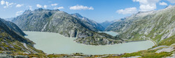 Panorama Grimselpass, Switzerland