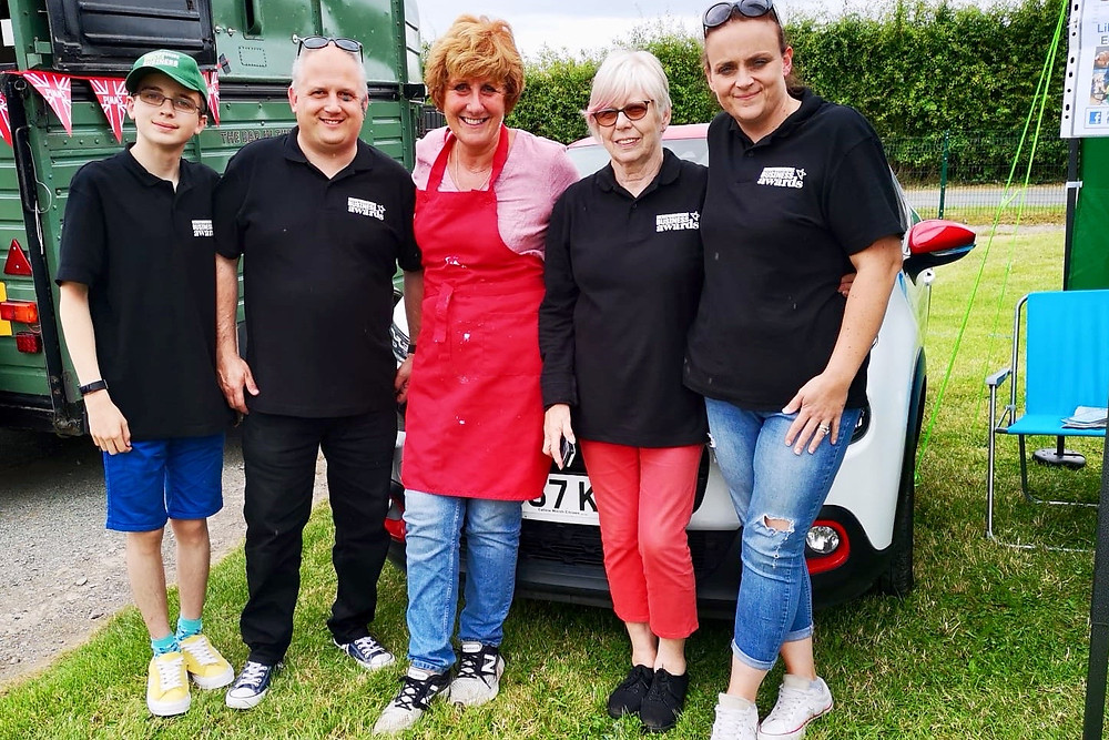 Meeting Jane Beadle at Shobdon F&F 2019