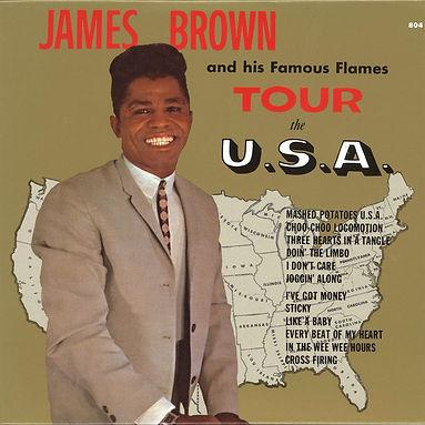 James Brown tour the usa