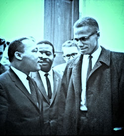 MLK and Malcolm X USNWR