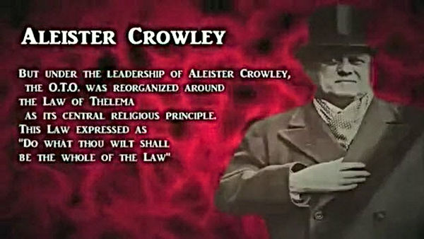 aleister crowley be the whole of the law