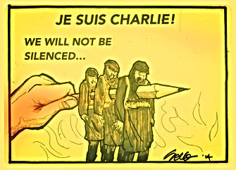 je suis charlie we will not be silenced