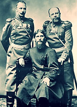 rasputin russian with officers