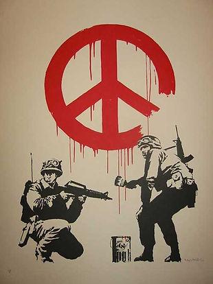 banksy cnd anti war