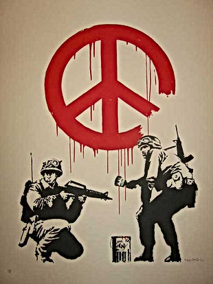 banksy cnd anti war