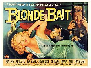 blonde bait movie poster