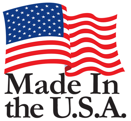 made in the usa with flag