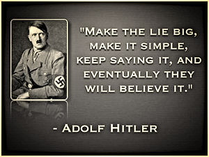 Adolf Hitler The big lie