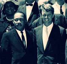 bobby kennedy with martin luther king