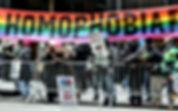 lgbt homophobia demo