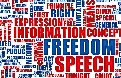 freedom of speech freedom of expression