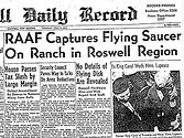 raaf captures flying saurcer on ranch in roswell region
