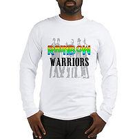 rainbow warriors lgbt long sleeve t shirt