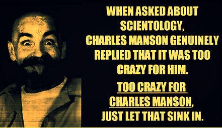 Scientology Charles Manson